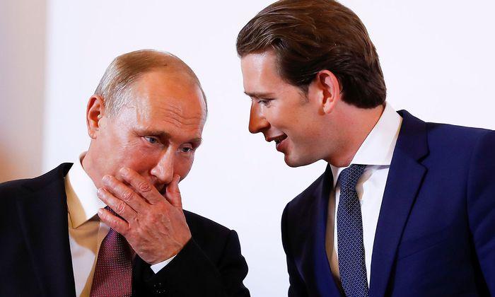 Russia´s President Vladimir Putin visits Austria