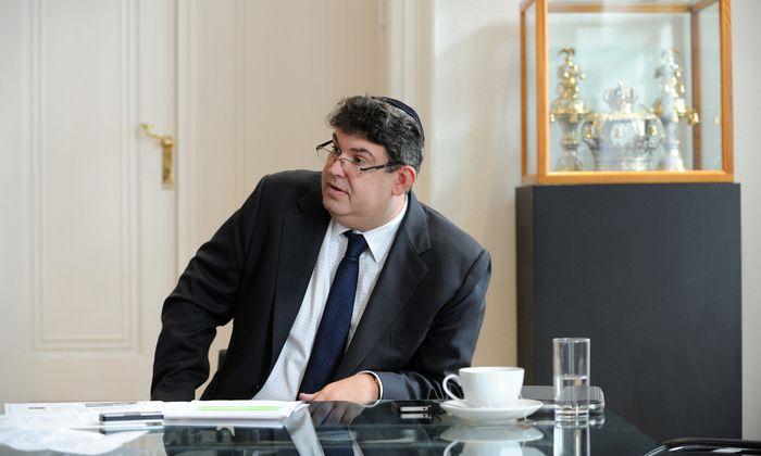 Oskar Deutsch, Präsident der Israelitischen Kultusgemeinde.