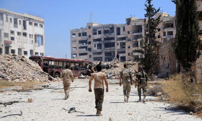 TOPSHOT-SYRIA-CONFLICT-ALEPPO