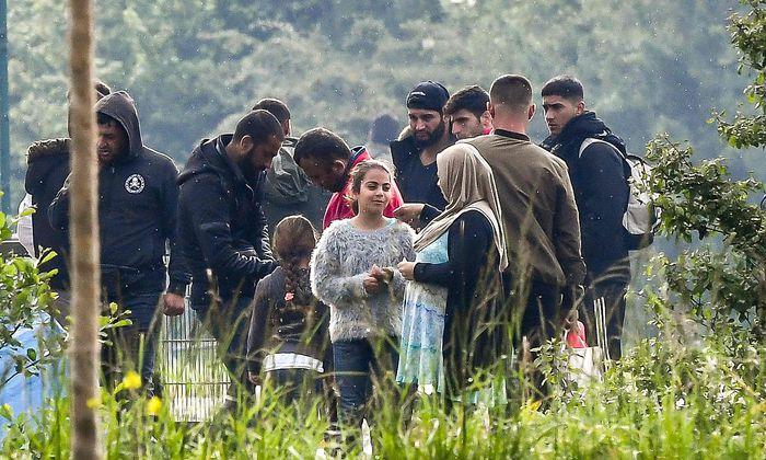 Symbolbild: Flüchtlingssituation am Balkan.