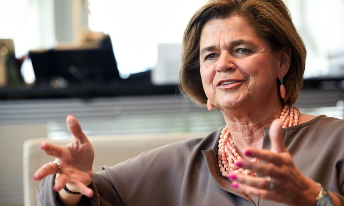 Generaldirektorin Bettina Glatz-Kremsner