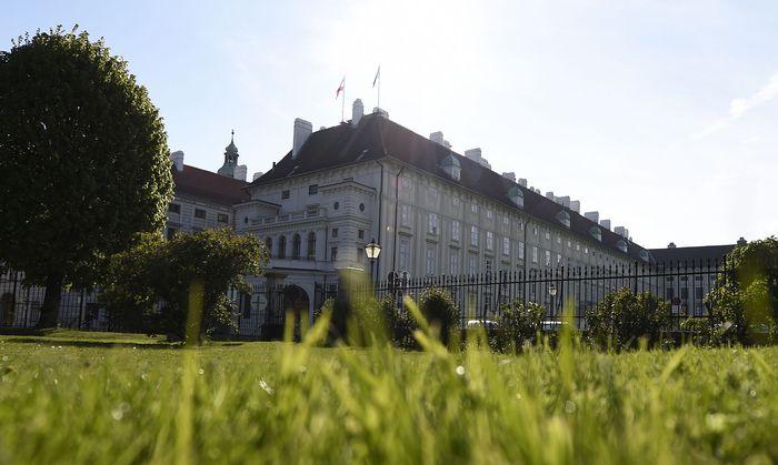 Die Präsidentschaftskanzlei in Wien