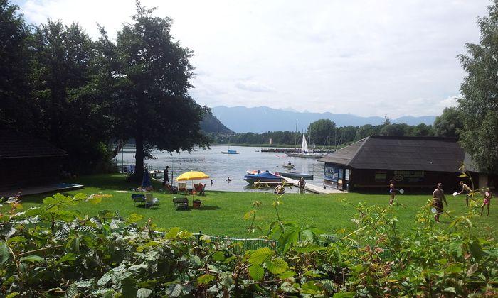 Seegrundstück am Ossiacher See in Kärnten.