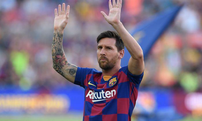 """Lionel Messi ist zurück aus der Sommerpause. """"Mit erneuerten Hoffnungen und großer Motivation"""", wie er sagt."""