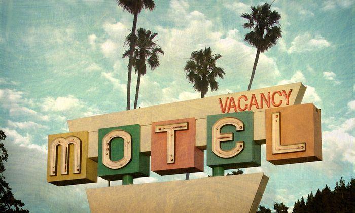 Angekratzte Ikone: Die Zeit hat die Motels überholt, der Zeitgeist soll sie wieder nach vorn bringen.