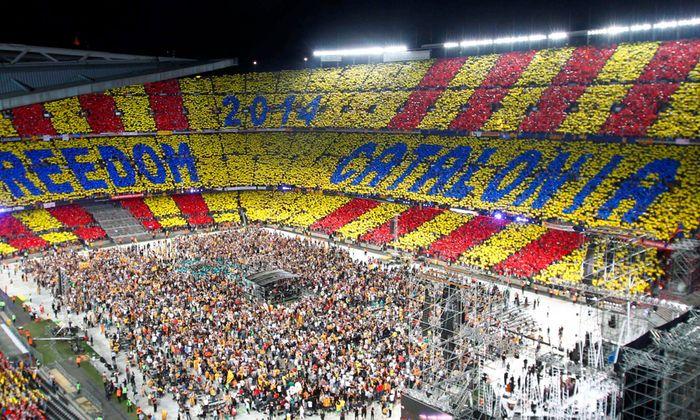 Katalonien Mehrheit will Unabhaengigkeit