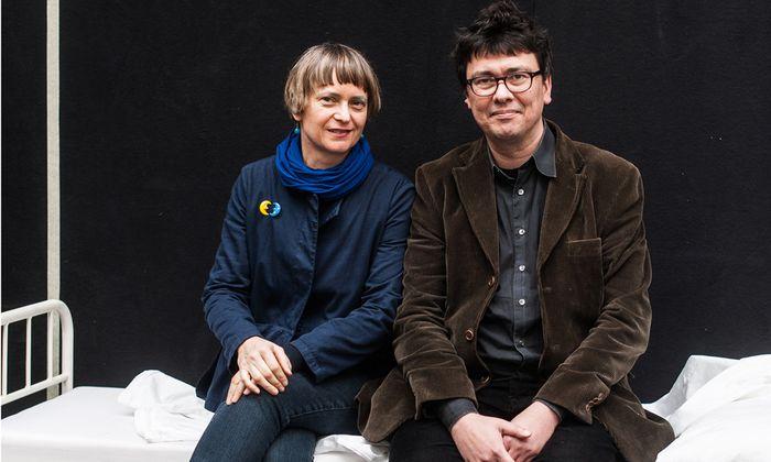 """Opernmacher. """"Ich möchte Zärtlichkeit vermitteln"""": Kristine Tornquist und ihr Partner, Jury Everhartz."""