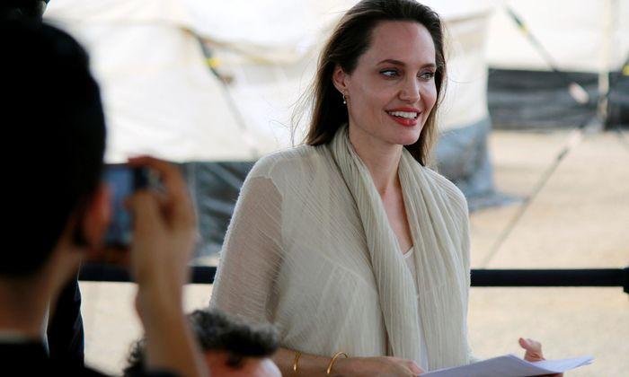Angelina Jolie in Kolumbien