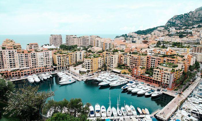 In Monaco werden Spitzenpreise bei Luxusimmobilien erzielt.