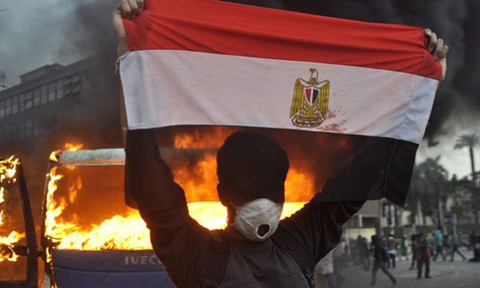 aegypten Blutige Proteste TahrirPlatz