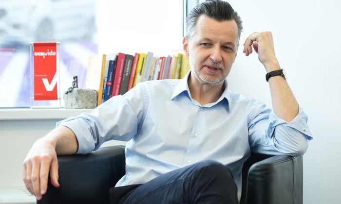 """""""Es geht nicht um Streik, sondern um das große Ganze"""", sagt Vida-Chef Roman Hebenstreit."""