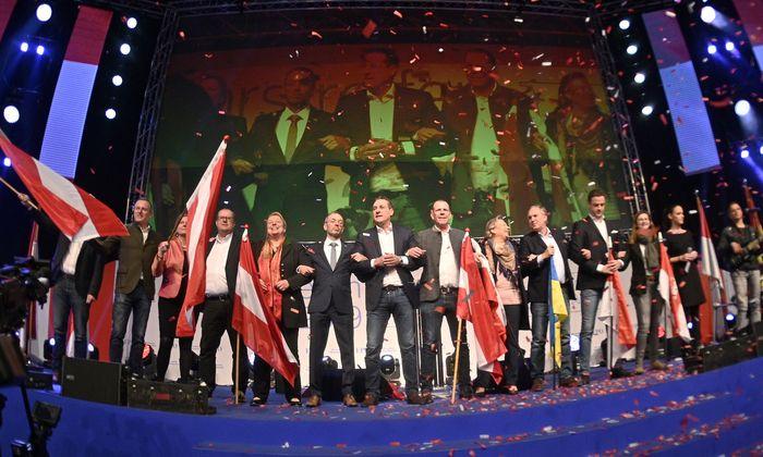 FPÖ-Chef Strache beim Neujahrstreffen 2019