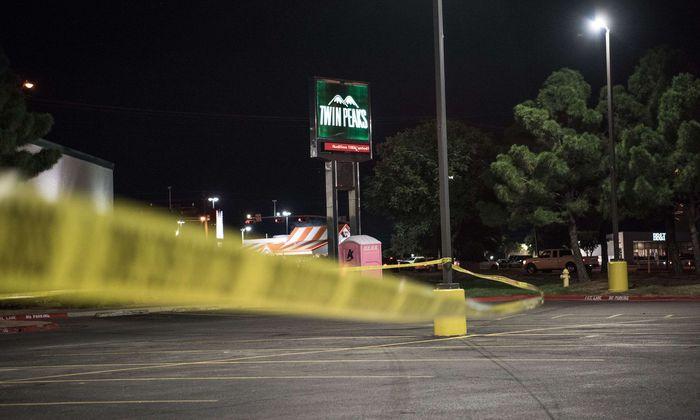 Absperrung nach Schießerei in Texas