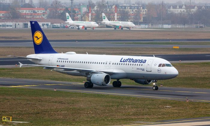 Airbus A320 der Lufthansa