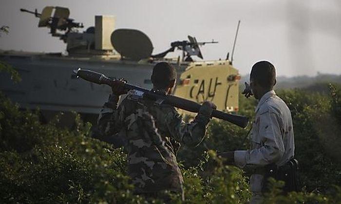 Das Al-Shabaab-Territorium in Somalia