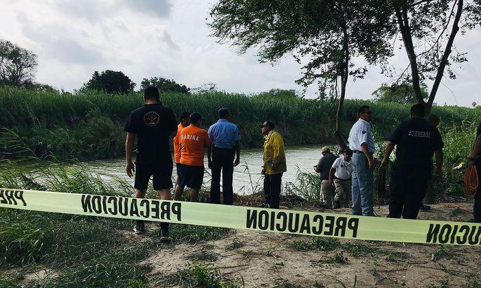 Die Fundstelle der beiden ertrunkenen Migranten.