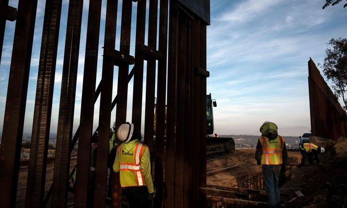 Der Streit um den Bau der Grenzmauer zu Mexiko legt die USA lahm.