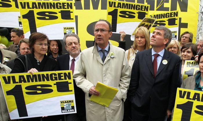 BELGIUM ELECTIONS 2010 VLAAMS BELANG
