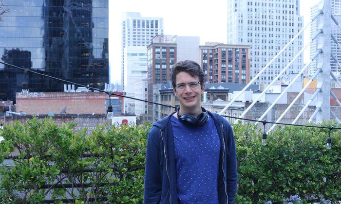 Mostly-Co-Founder Kalcher in San Francisco.