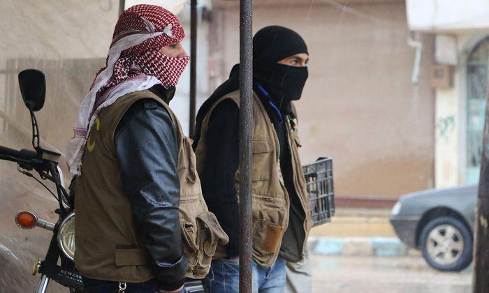 Kurdische YPG-Kämpfer sind das Ziel der türkischen Armee im syrischen Afrin.