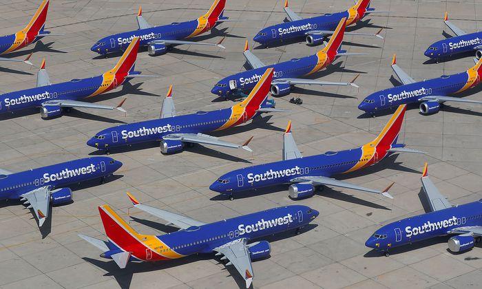 Seit März müssen Maschinen des Typs Boeing 737 Max am Boden bleiben.