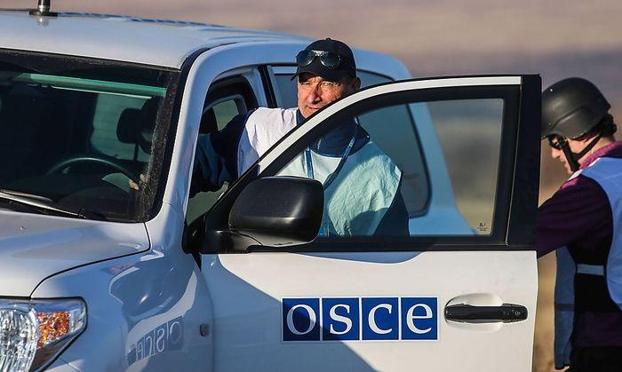 Symbolbild: OSZE in der Ukraine