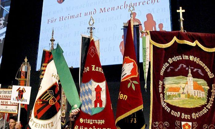 Sudetendeutsche verzichten auf
