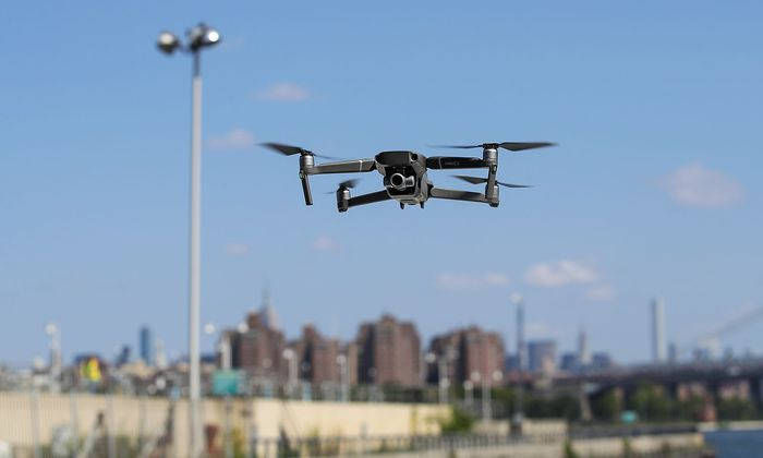 US-DRONE-MAKER-DJI-DEBUTS-LATEST-PRODUCT-IN-NEW-YORK