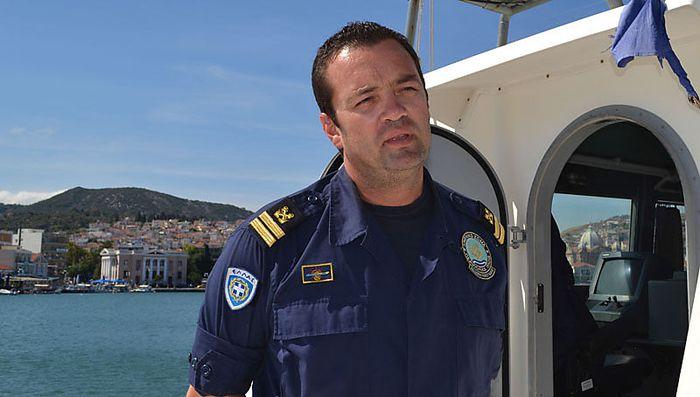 Oberleutnant zur See Kyriakos Papadopoulos