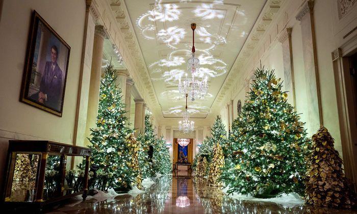 Weihnachten im Weißen Haus.