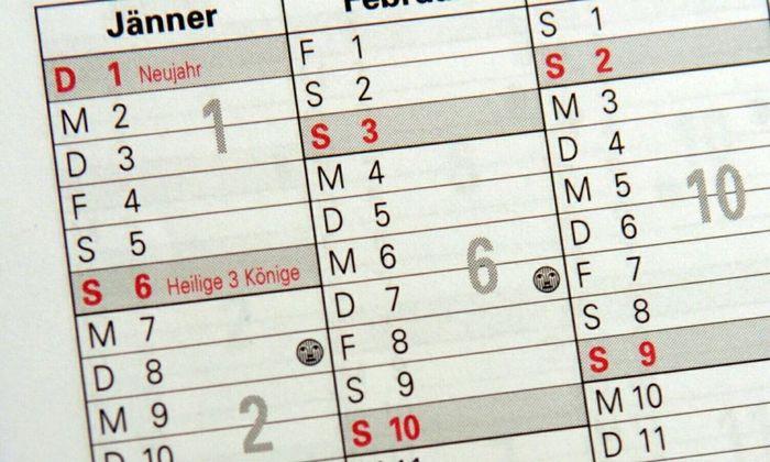 Symbolbild: Kalender