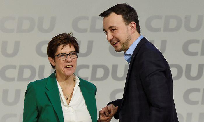 Christian Democratic Union party congress in Hamburg