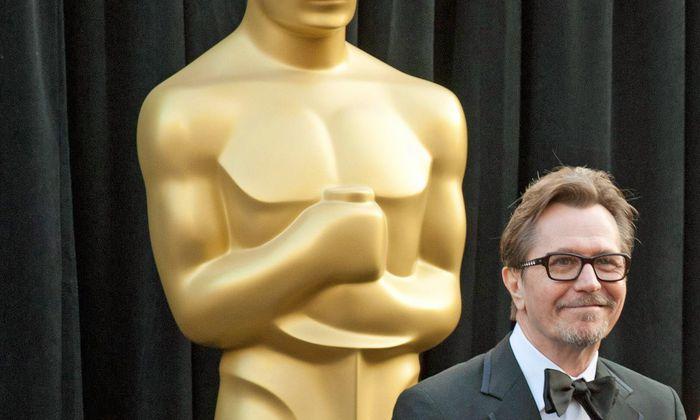 Bekommt Gary Oldman den Preis für den besten Hauptdarsteller? Bald wissen wir's.