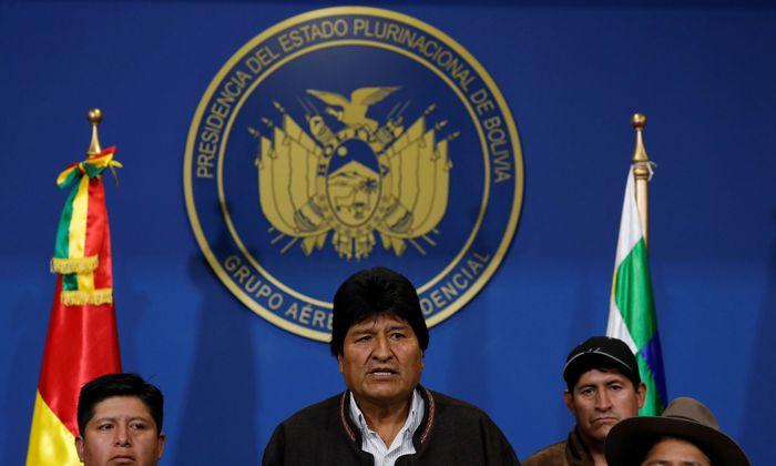 Präsident Evo Morales will erneut wählen lassen