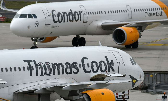 GERMANY-BRITAIN-TRAVEL-THOMASCOOK-CONDOR
