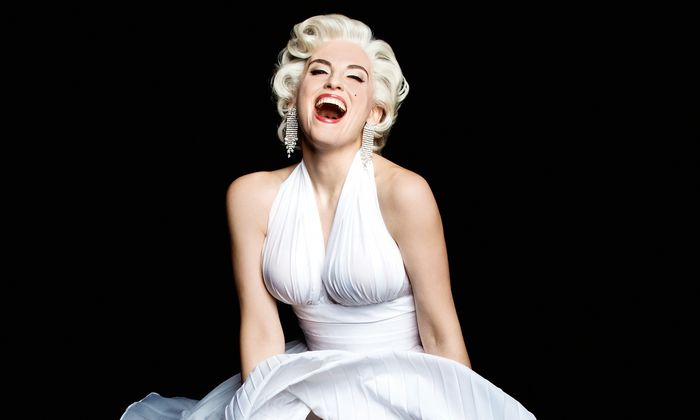 Opernstoff. Die Sopranistin Rebecca Nelsen als Marilyn.