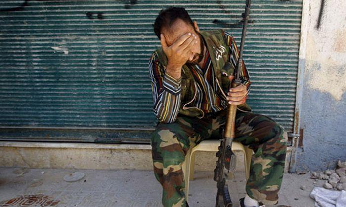 Syrien zermuerbende Schlacht Aleppo