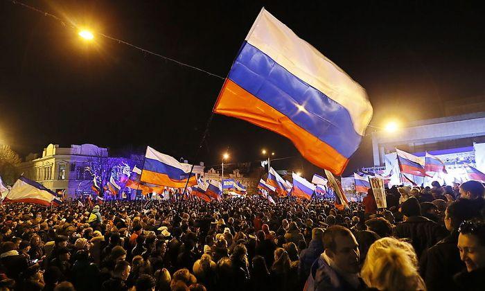 Zu früh gefeiert? Jubelkundgebung am Abend des Referendums am 16. März