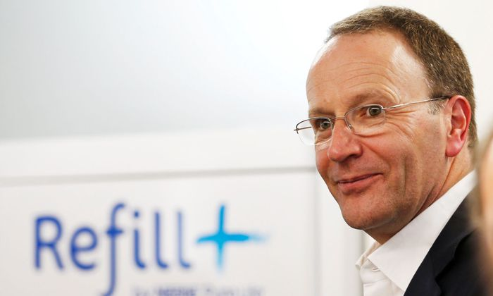 Nestle-Chef Mark Schneider sieht Fortschritte auf dem Weg zu den Finanzzielen