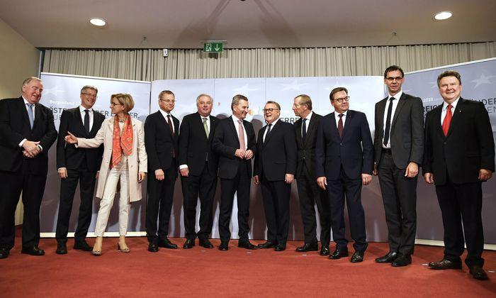 Landeshauptleutekonferenz: Soll man den Landeskaisern mehr Macht und Finanzverantwortung geben – oder sie zurückstutzen? Eine weiter ungeklärte Frage.