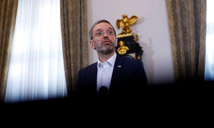 Der geschäftsführende FPÖ-Klubobmann Herbert Kickl