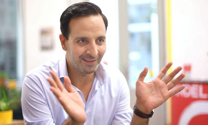 Wandel-Spitzenkandidat Fayad Mulla