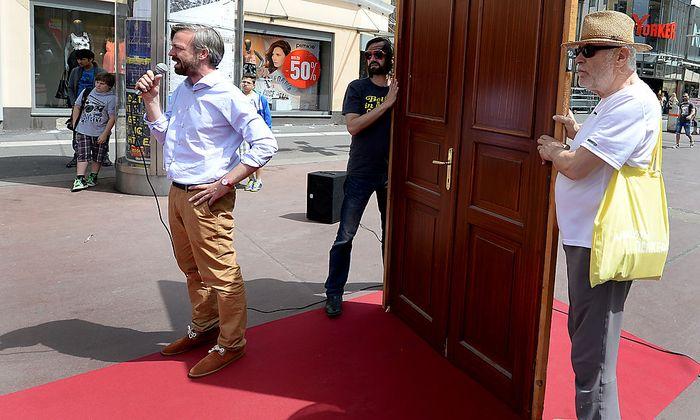 Wahlkampfabschluss von ''Europa anders''