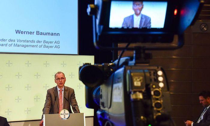 Archivbild: Bayer-Chef Werner Baumann