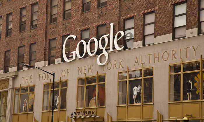 USA New York 06 2015 Google building in Manhattan PUBLICATIONxNOTxINxUSAxUK Copyright xLuisxVict