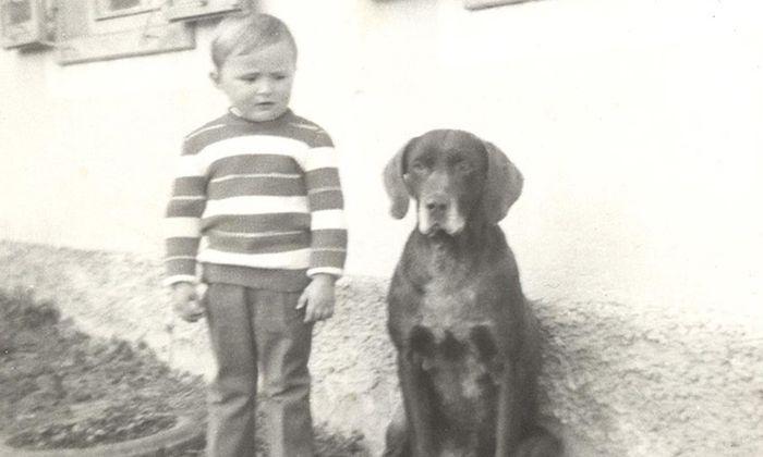 Hans Peter Doskozil als Dreijähriger.