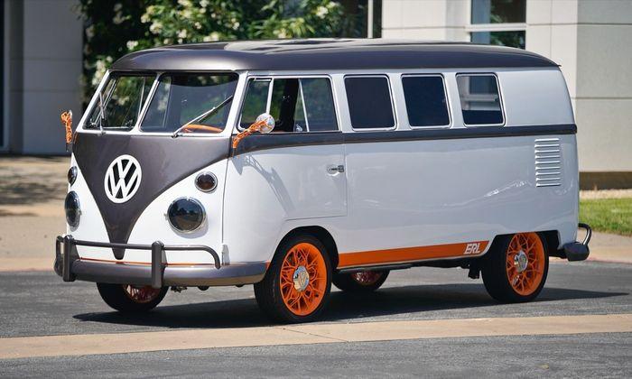 Ein 1962er VW T1 mit Technik aus der Zukunft