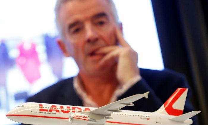 Ryanair-Chef O'Leary hat Probleme bei seiner Wiener Tochter