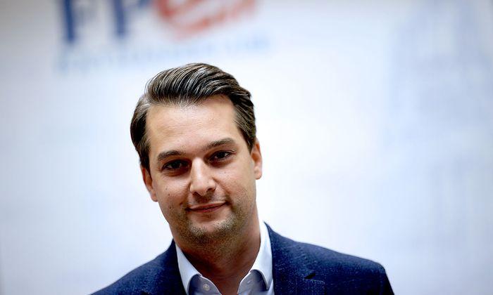 Wiens FPÖ-Chef, Dominik Nepp, der die U-Kommission initiiert hat, aber keine freiheitlichen Vereine prüfen lassen will.