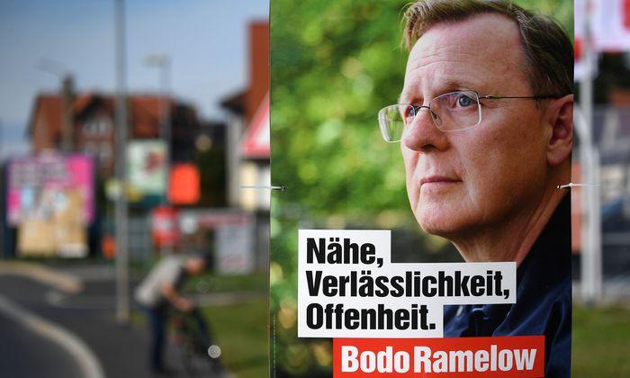Ministerpräsident Bodo Ramelow gewinnt Wähler, die für die Linkspartei bisher außer Reichweite waren.